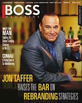 Featured in BOSS Magazine