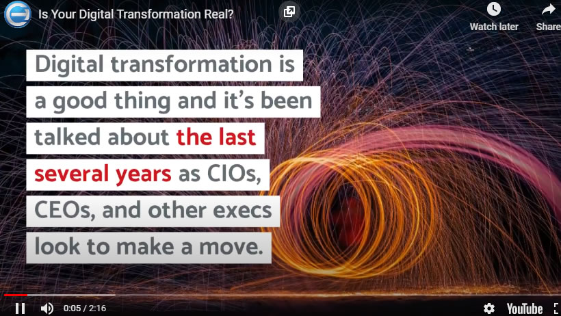 Is Your Digital Transformation Real - Coruzant